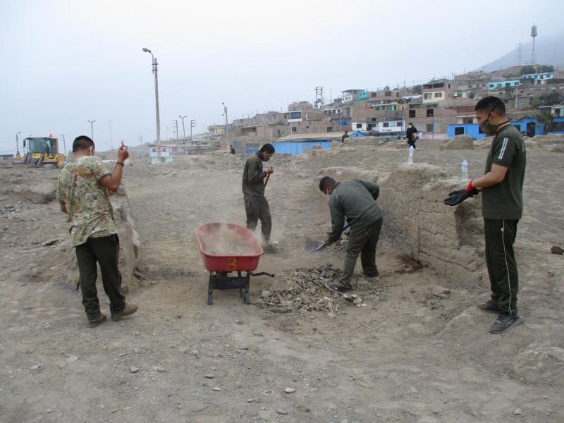 Ministerio de Cultura supervisó limpieza en Monumento Arqueológico Cerro Macatón en Huaral