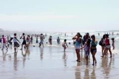 Playa en pandemia