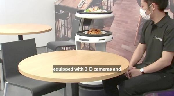 Conoce a Servi, el robot mesero para restaurantes que costará 950 dólares al mes