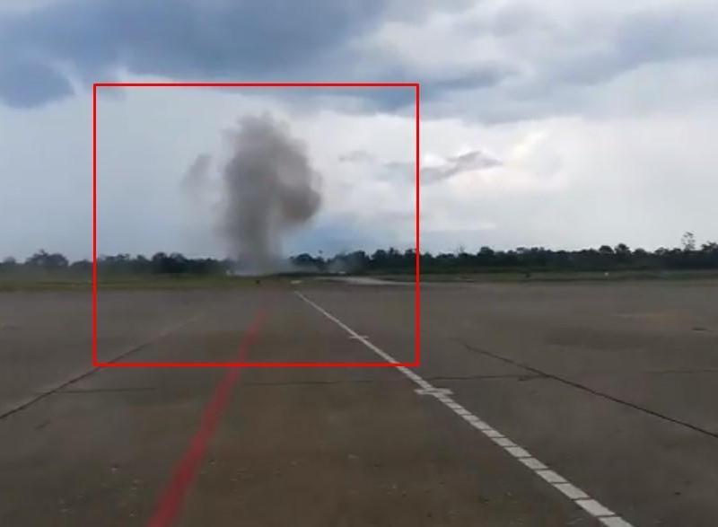 Videos de accidente aéreo en Iquitos difundidos en redes sociales