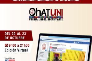 Qhatuni: Feria de Libros, Becas y Arte tendrá su primera edición virtual