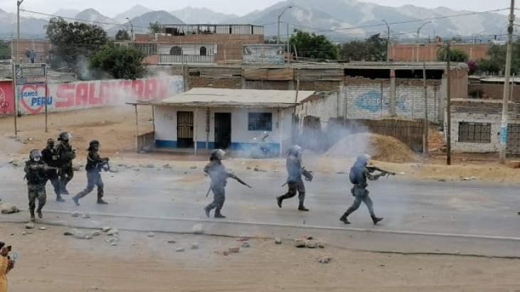 Protestas en Virú