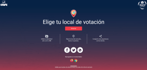 Elige tu local de votación