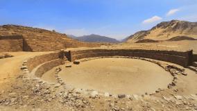 Zona Arqueológica Caral ante amenazas