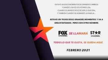 Fox Channel ahora será Star Channel