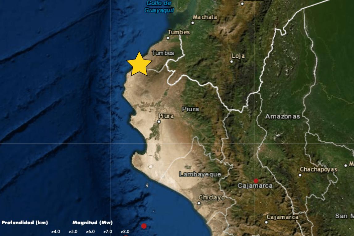 Temblor en Chilca
