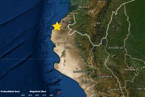 Temblor en Lima: Sismo de magnitud 4.3 se registró hoy en Chilca, Cañete