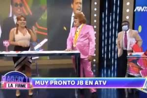 "Jorge Benavides JB reaparece como Richard ""Swing"" en Magaly TV"