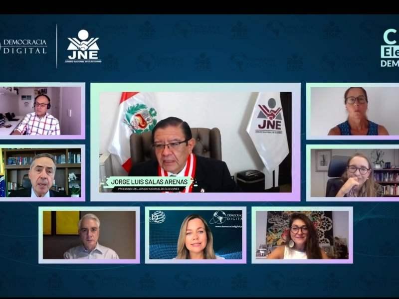 Presidente del JNE cuestiona ataque a autoridades electorales