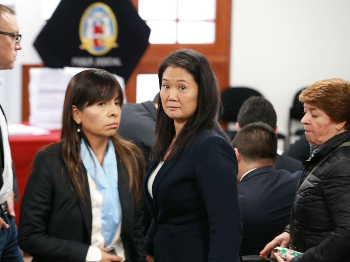 Keiko Fujimori en tribunal