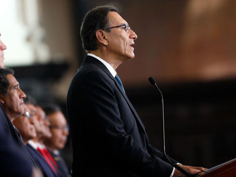 Martín Vizcarra en complicada situación judicial