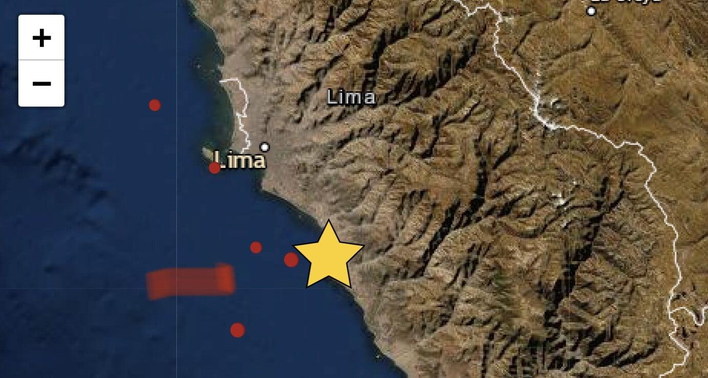 Sismo en Lima hoy: Temblor de magnitud 3.8 se registró en Chilca