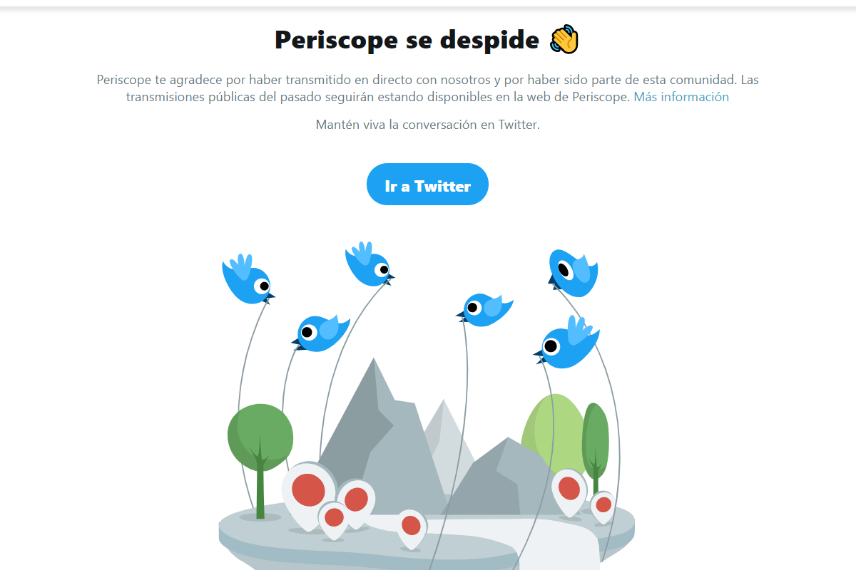 Periscope se despide
