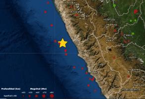 Temblor en Lima: Sismo de magnitud 4.4 se registró hoy 7 de abril en Barranca
