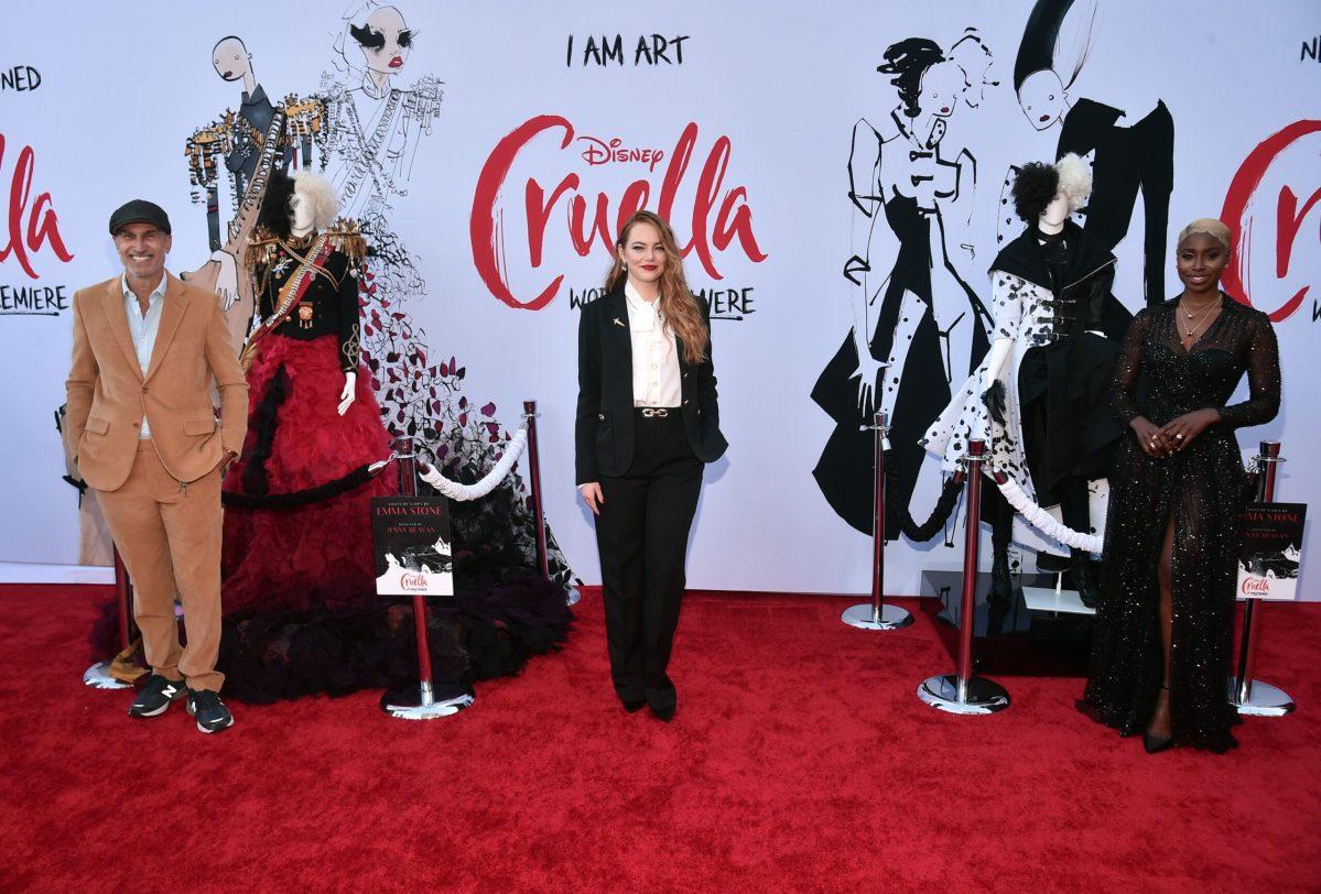Premiere mundial de Cruella con Emma Stone