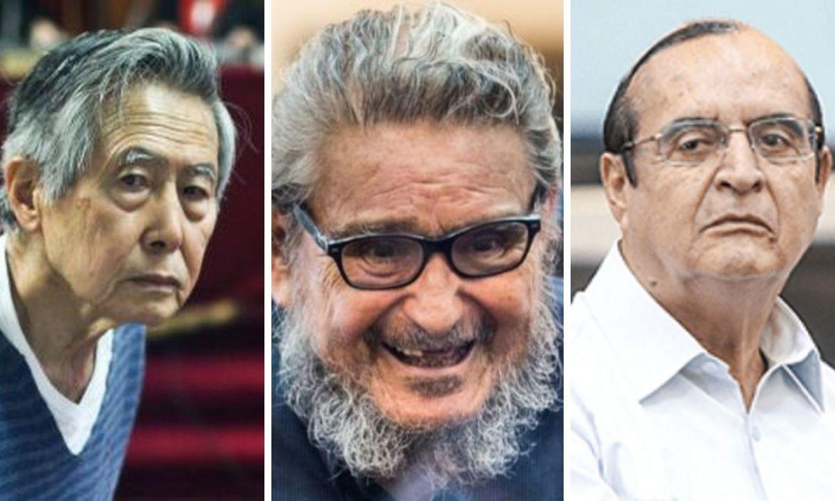 Alberto Fujimori, Abimael Guzmán y Vladimiro Montesinos vacunados contra el COVID-19
