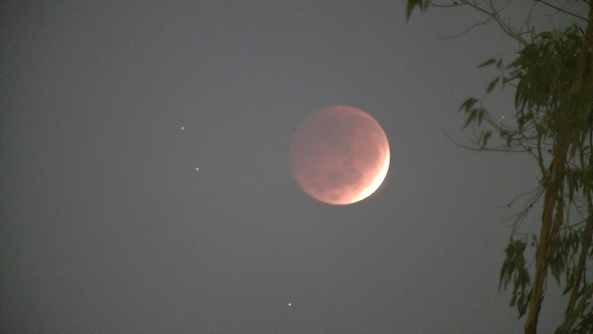 Eclipse lunar del 26 de mayo