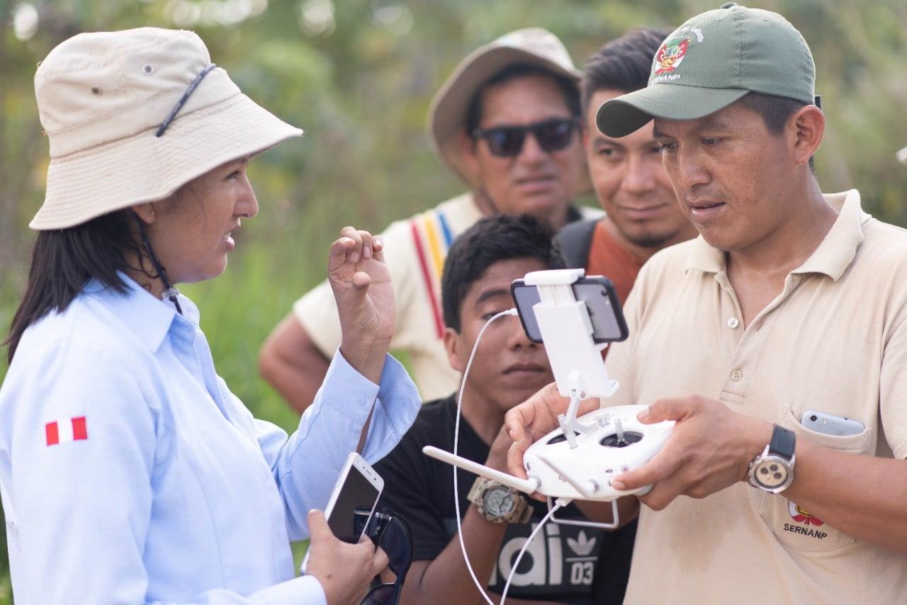 Drones adaptados para conservar áreas naturales