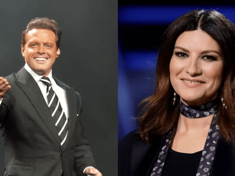Luis Miguel y Laura Pausini
