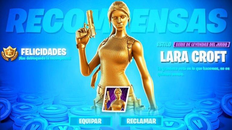 Fortnite: Cómo conseguir el skin de oro de Lara Croft gratis, aquí un tutorial