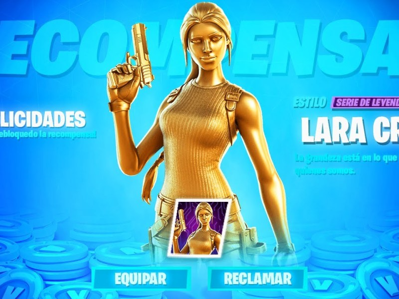 Tutorial para conseguir el Skin de oro de Lara Croft