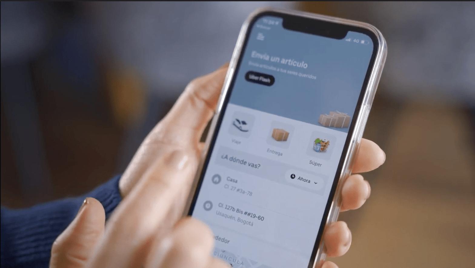 Uber Flash en el Perú