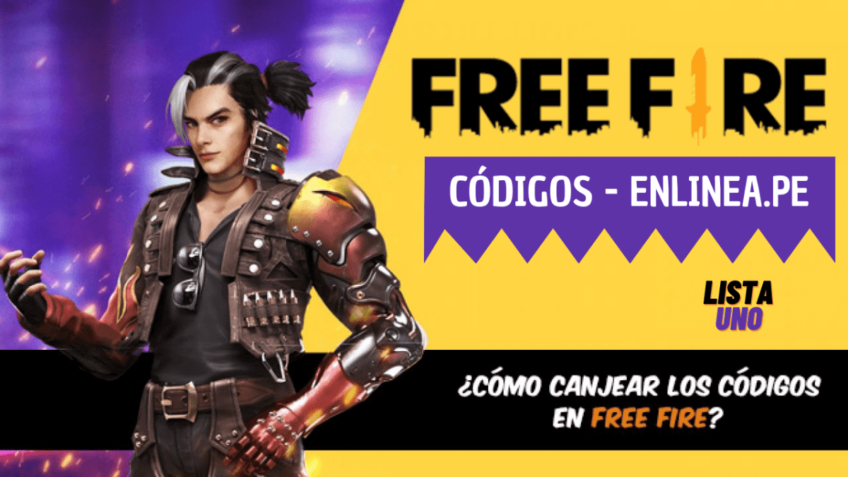 Códigos Free Fire gratis para hoy