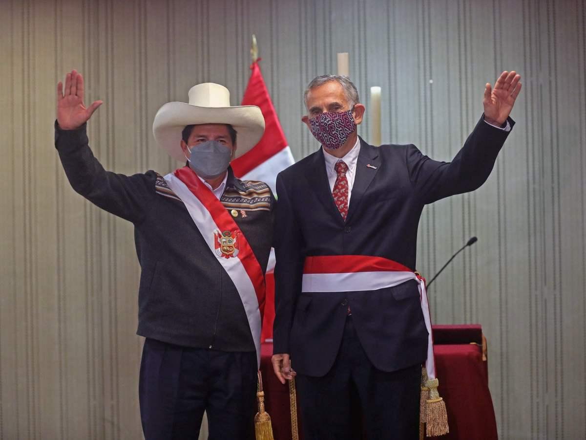 Pedro Castillo y Pedro Francke