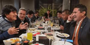 Vladimir Cerrón y Evo Morales cenan en Costanera 700, pero no asiste Pedro Castillo