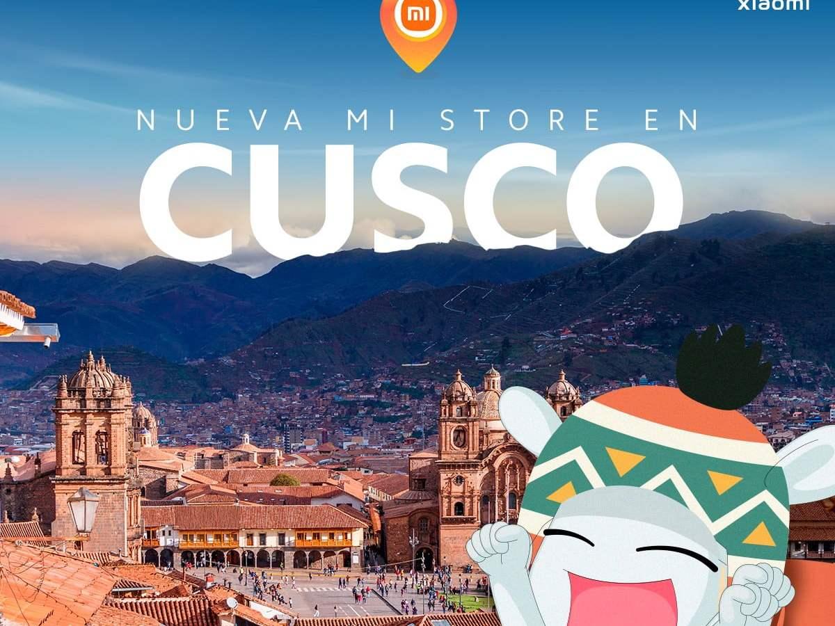 Xiaomi abre tienda en Cusco