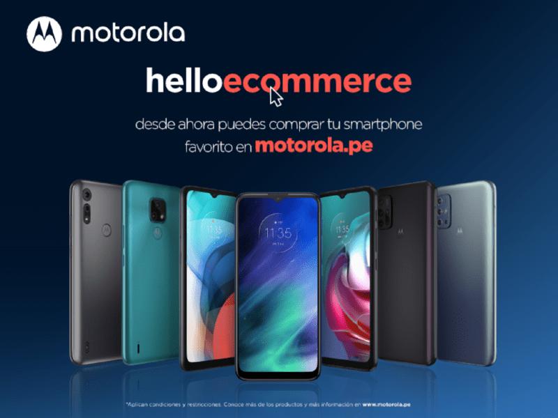 Motorola abre tienda online