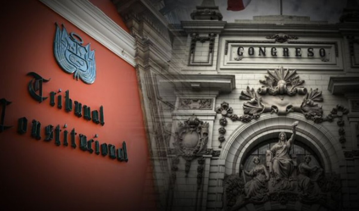 Tribunal Constitucional y Congreso de la República