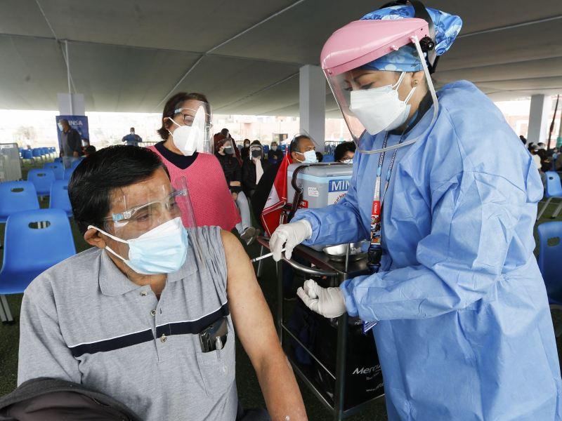 Vacunatón en Lima contra el COVID-19