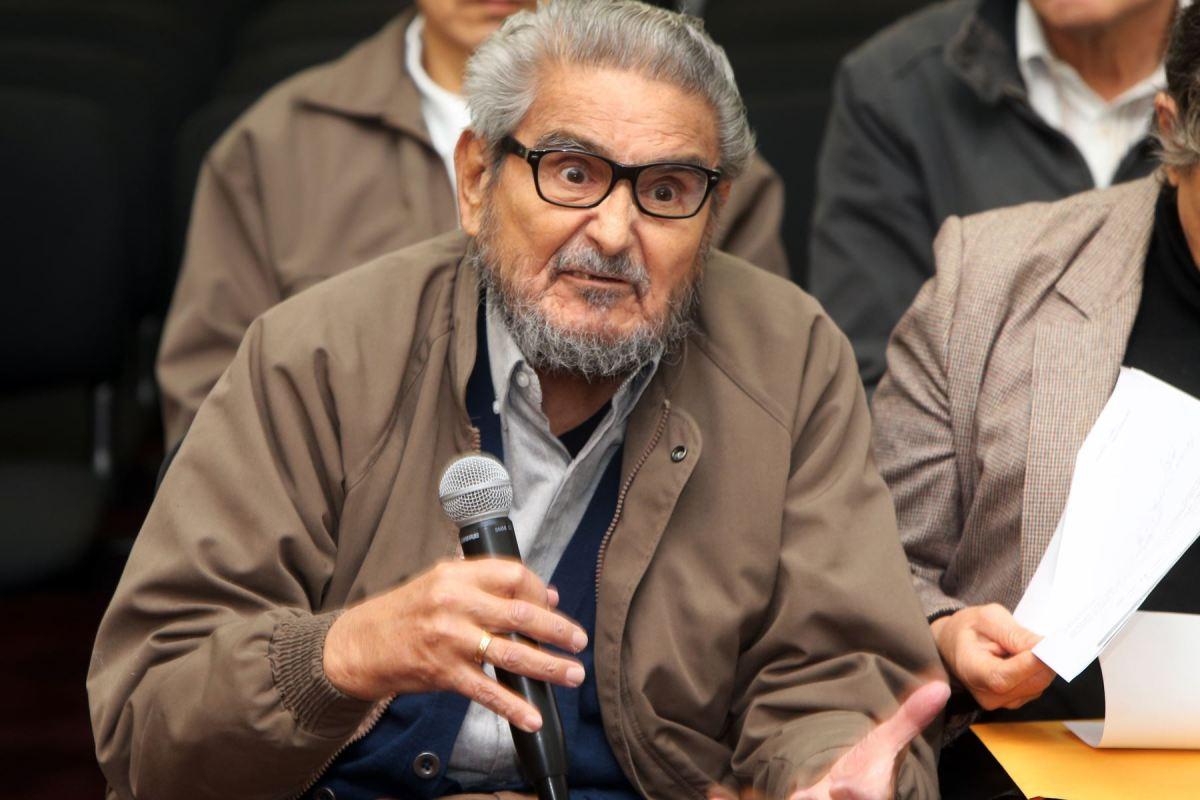 Terrorista Abimael Guzmán en juicio