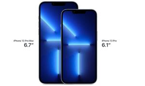 iPhone 13 Pro Max y iPhone 13 pro