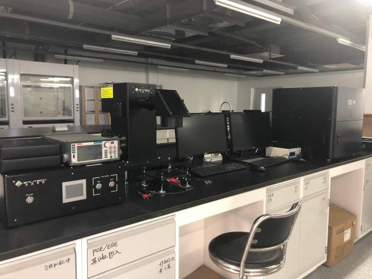 ss-x50 solar simulator installed in chinese academy of sciences