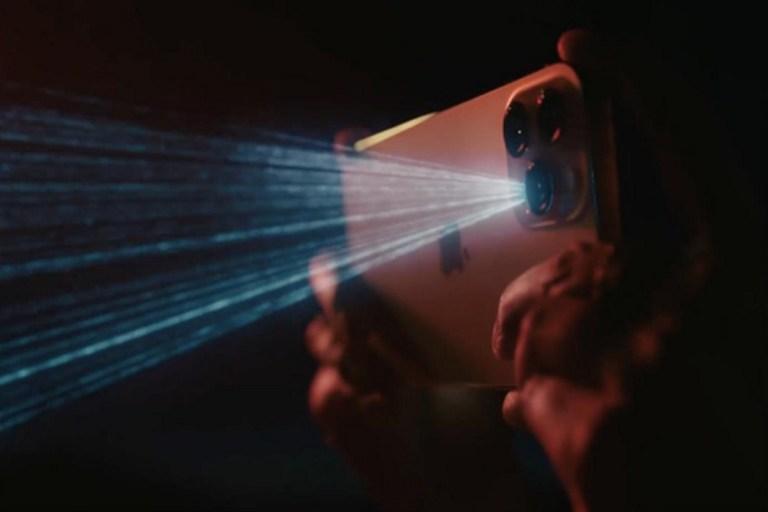 External quantum efficiency of Photodiode in iPhone 12's LiDAR