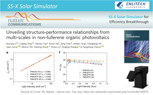 Solar Simulator for Efficiency Breakthrough NFAs Nature Communications SS-X