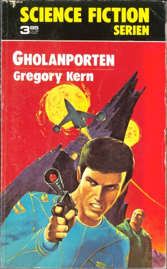 Gregory Kern, Gholanporten [The Golan Gate] (1974 - Lindfors Förlag, Science Fiction Serien [12]), cover by Jack Gaughan.
