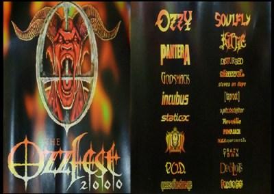 Ozzy – Crazy Train – Ozzfest 2000