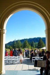 wedding ceremony at theological ceremony