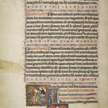 Martyrologe de Saint Germain des Prés. Folio 120