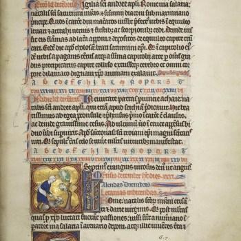 Martyrologe de Saint Germain des Prés. Folio 149