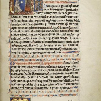 Martyrologe de Saint Germain des Prés. Folio 53