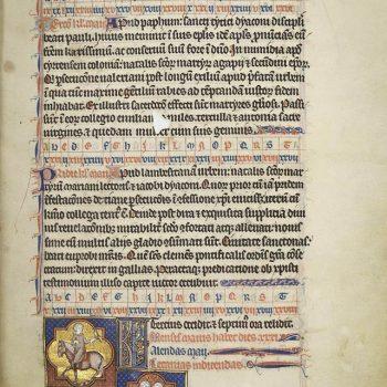 Martyrologe de Saint Germain des Prés. Folio 79