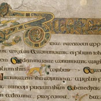 Livre de Kells - détail du folio 19v