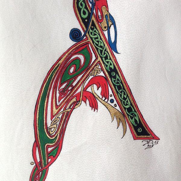 Initiale A celtique