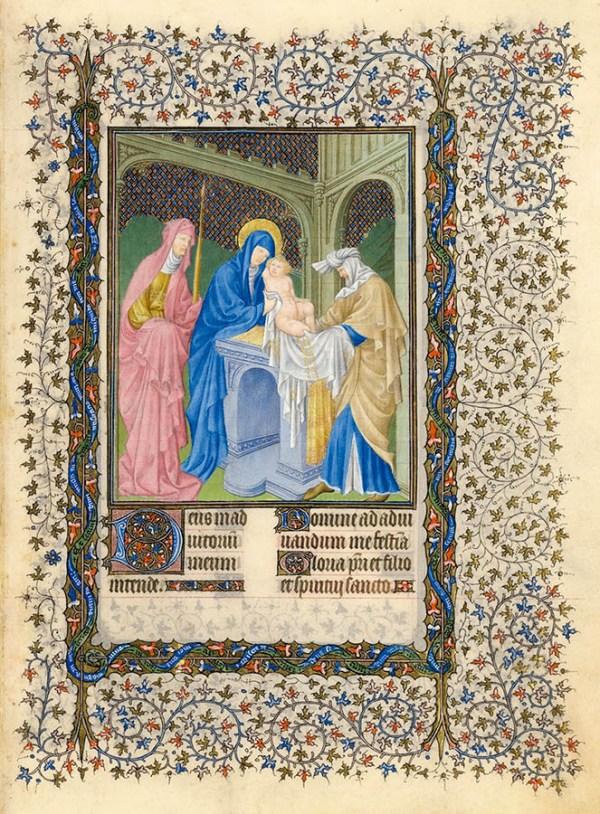 La présentation de Jésus au temple.