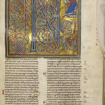 Bible d'Arnstein - Folio 166 - Saint Marc - Initium