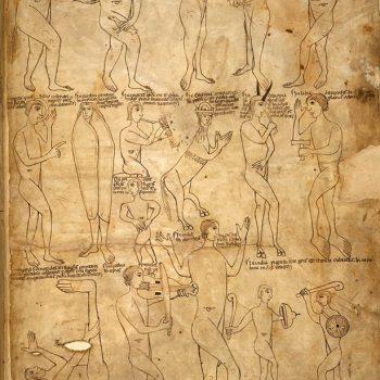 Bible d'Arnstein - Folio 243 - Diverses races monstrueuses